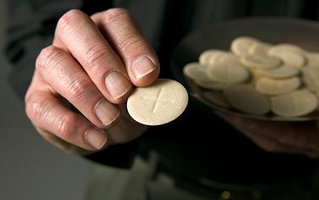 Communion wafer
