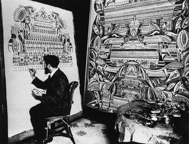 Antonin Lesage in his studio
