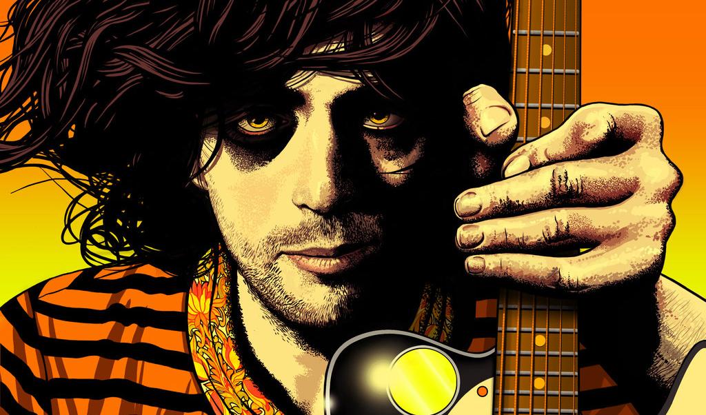 Syd Barrett detail