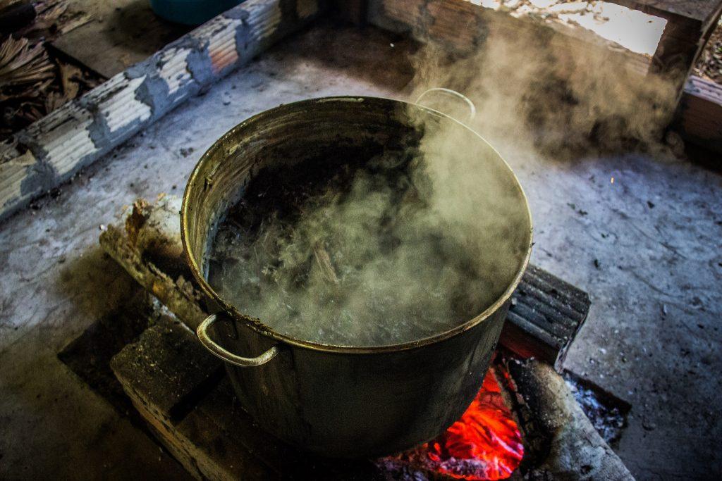 Ayahuasca Pot Boiling