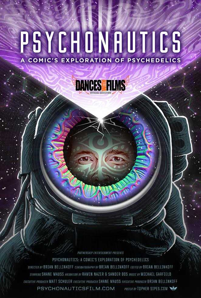 Psychonautics, a documentary of healing, exploration, and humor featuring Shane Mauss