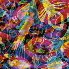 Carnovsky's Psychedelic RGB Wallpaper