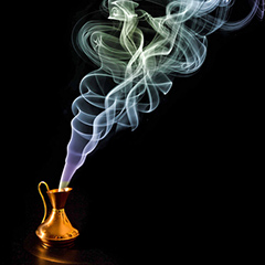 How to Conjure Visions in Ribbons of Smoke