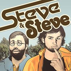 Steve & Steve, a brilliant web comic about an acid trip