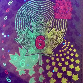 Canada's new passports have a very trippy secret